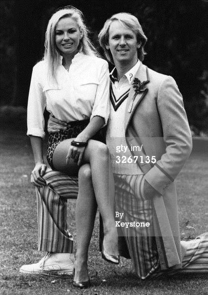 News Photo : Pamela Stephenson and Peter Davison who plays...