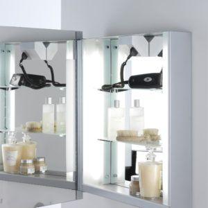 Bathroom Mirror Cabinets With Shaver Socket