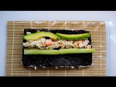impara a cucinare il sushi segui la ricetta del california roll