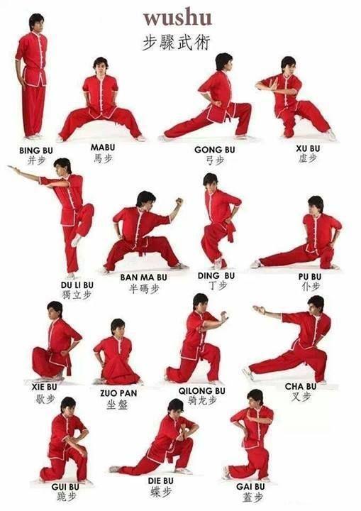 Wushu position