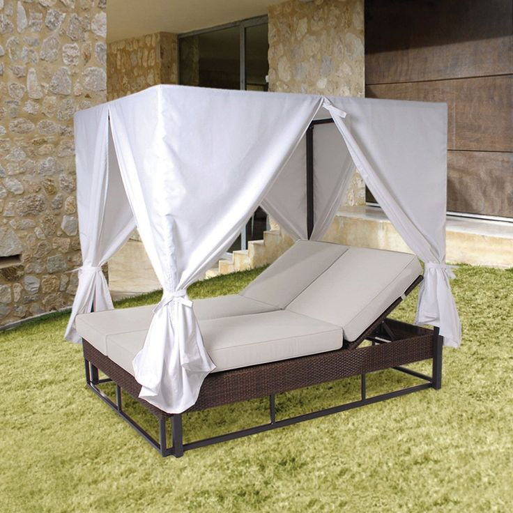 Hospitality Rattan 903 9235 JBP Soho Patio Daybed with