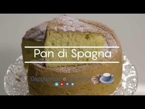 La ricetta del PAN DI SPAGNA alto e soffice
