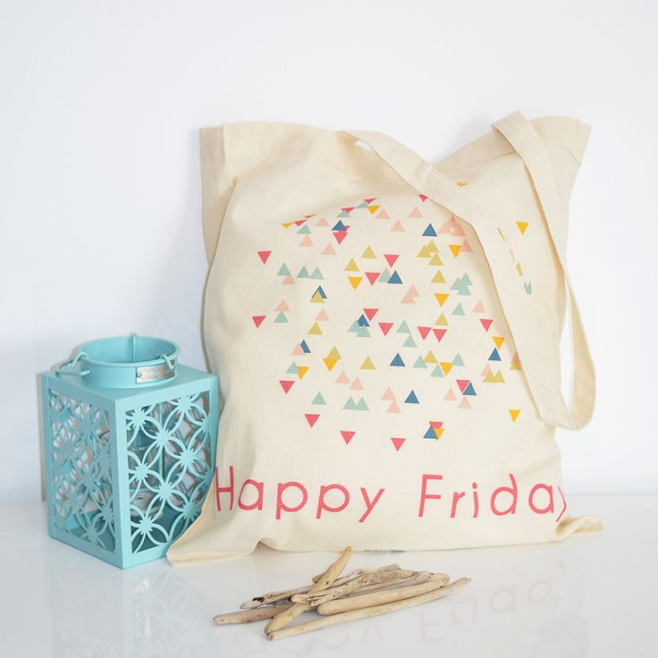 Petite Mila   Tote bag Happy Friday