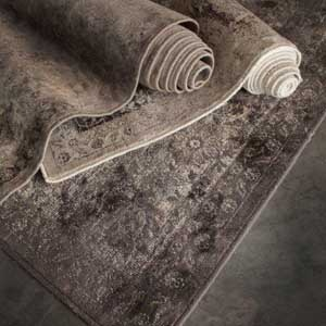 Collection: Vintage Rugs  From the supplier of our Mezze rugs, we are pleased to introduce to the market the new Vintage collection.  These rugs have a neutral palette and are cleverly woven to create a degraded and distressed appearance whilst the lustre in the viscose yarn gives the impression of a silk heirloom carpet.