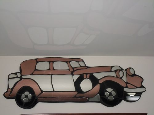 17 Best Images About Stained Glass Transportation On Pinterest Chevy Vw Bugs And
