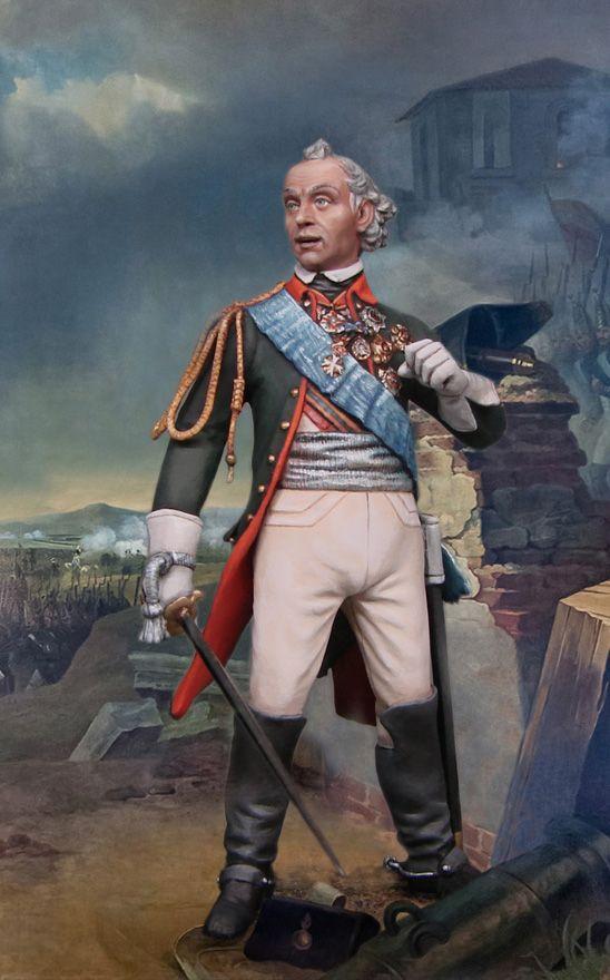 Суворов Александр Васильевич, 1730-1800. Генералиссимус, великий русский полководец. РВ842, М1:30.