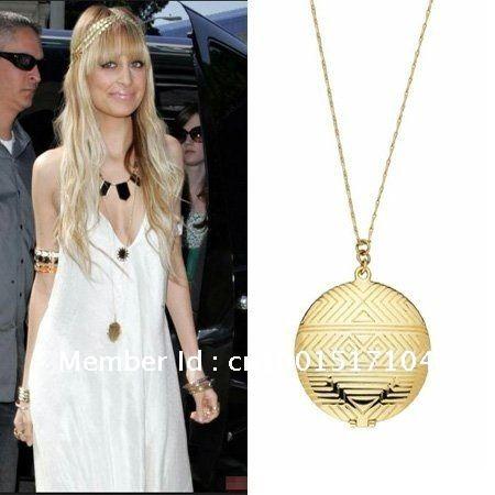 135 best jewelry images on pinterest drop necklace pendant necklacegold medallion locket pendant mozeypictures Gallery