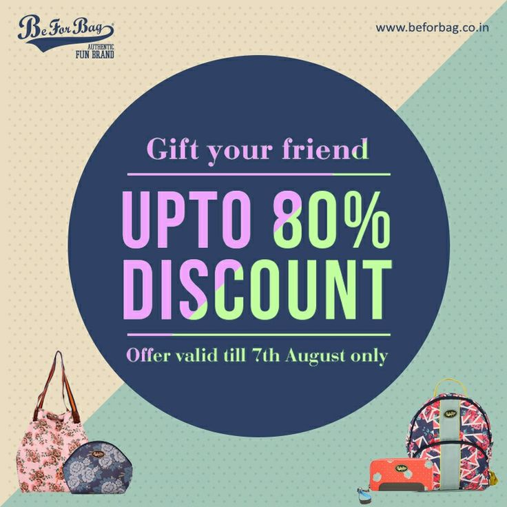 This Friendships Day get an amazing chance to gift a bag to your bestie at unbelievable prices #beforbag #friendshipsday #friend #bags