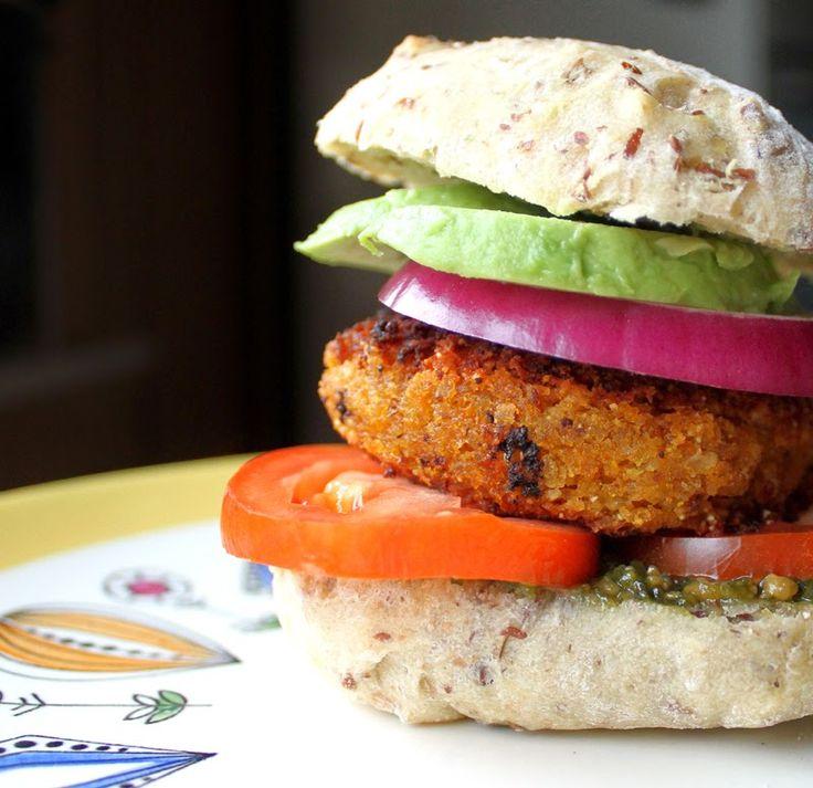 Gulrotburger | Veganmisjonen