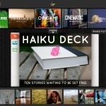 The iPad serves as a great presentation tool, thanks to Keynote or the many apps that play PowerPoint presentations. Neither of those options make creating presentations on the iPad convenient.    Enter Haiku Deck, a simple and beautiful presentation tool for the Apple iPad.