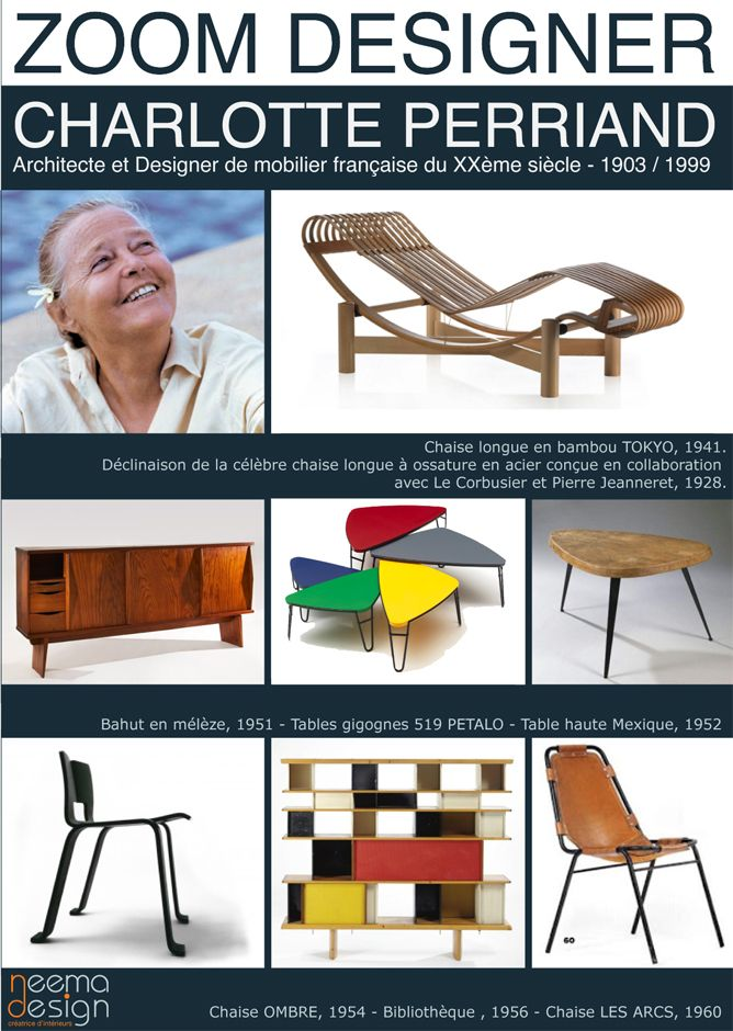 Charlotte Perriand - icons of the 20th Century