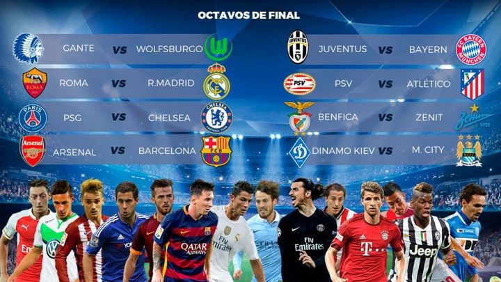 Regresa la UEFA Champions Leage