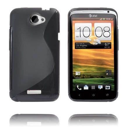 S-Line Massive (Valkoinen) HTC One X Suojakuori