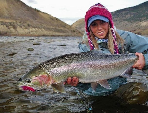 Paula Shearer - steelhead fisher | Fishing | Pinterest ...