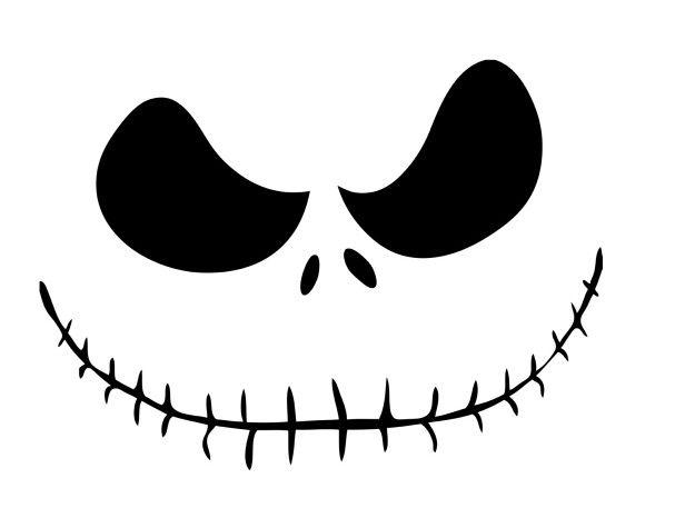 The best jack skellington pumpkin stencil ideas on