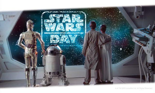 Celebremos el #StarWarsDay   Qué es el Día de Star Wars o May the 4th?  El Día de Star Wars es una tradición popular anual iniciada por los fans que Lucasfilm ha adoptado por completo realzando el espíritu del fanatismo compartido con actividades solidarias nuevos contenidos fiestas y mucho más. Los mensajes de May the 4th be with you el cual surge de la asociación fonética de la frase en inglés May the Force be with you (Que la Fuerza te acompañe). LAS DIEZ MEJORES MANERAS DE CELEBRAR…