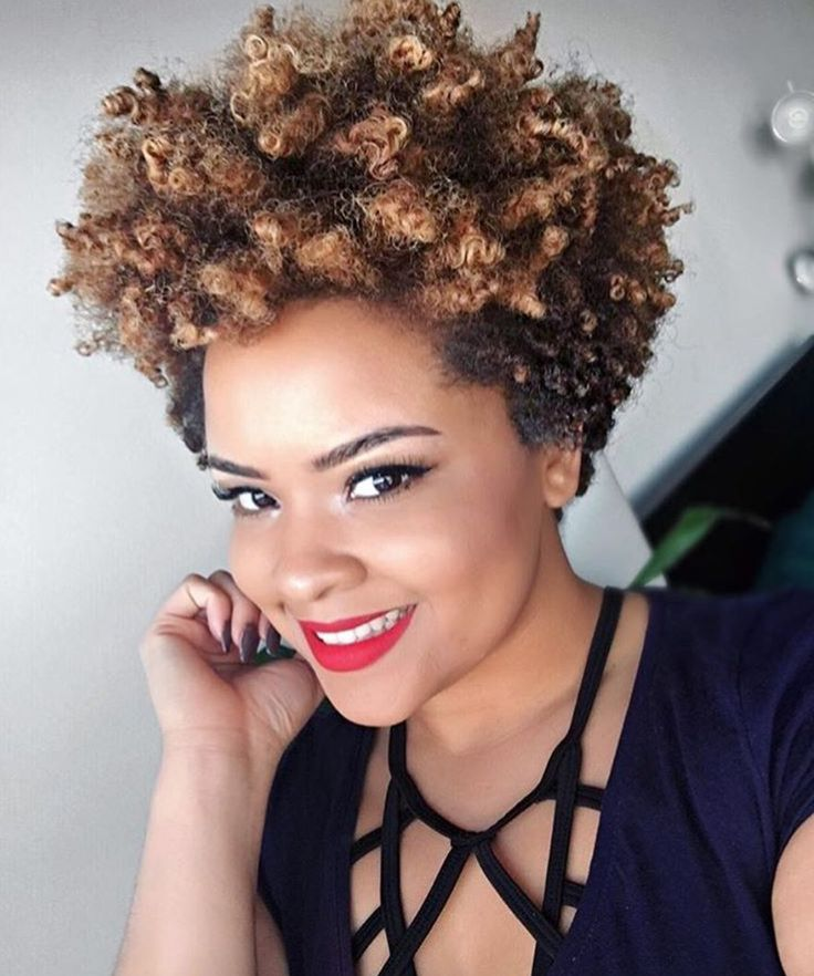 Best 25+ Tapered Natural Hairstyles Ideas On Pinterest