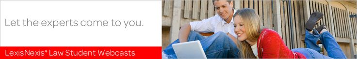 On Thursday, July 18th, LexisNexis will host a webcast entitled Preparing for On-Campus Interviews to help you succeed in your upcoming interviews. http://www.eventsvc.com/lawschool/lawstudent