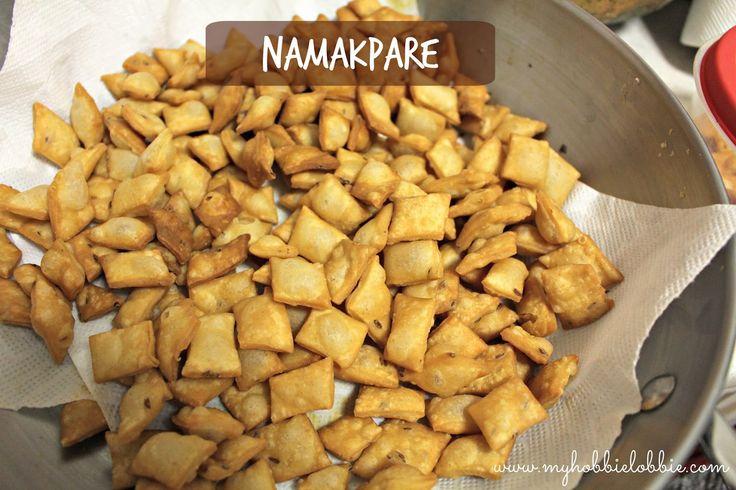 Namakpare ... Savory fried crackers