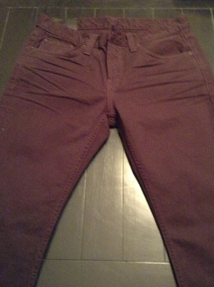 J Brand Kane Crafted Colors (Regal)$196 I love the color of these jeans, its a chocolate purple. Although these jeans were sent in the correct waist size they are far to long. They are 30/ what looks like 34 to a 36L. Too expensive for my taste to have more out of pocket cost for alterations. Returned