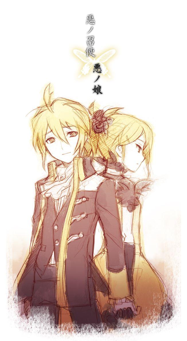 """/Story of Evil/#579025 - Zerochan   Kagamine Rin & Len's """"Daughter of Evil/Servant of Evil"""""""