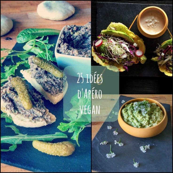 25 idées d'apéro vegan pour l'été