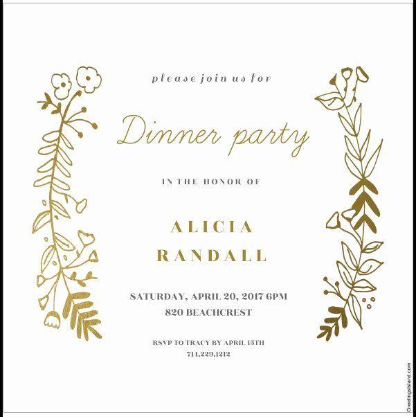 Dinner Invitation Template Unique 12 Free Sample Dinner Invitation Card Templates Dinner Party Invitations Dinner Invitation Template Party Invite Template