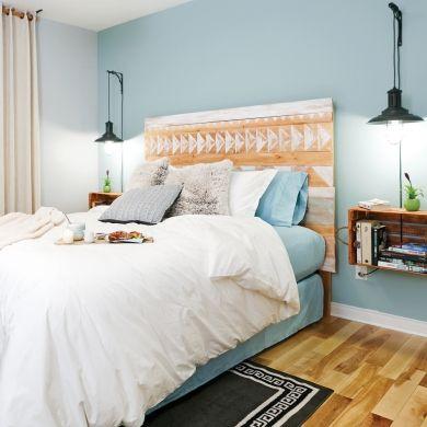 Une tête de lit de style aztèque - Chambre - Inspirations - Décoration et rénovation - Pratico Pratique