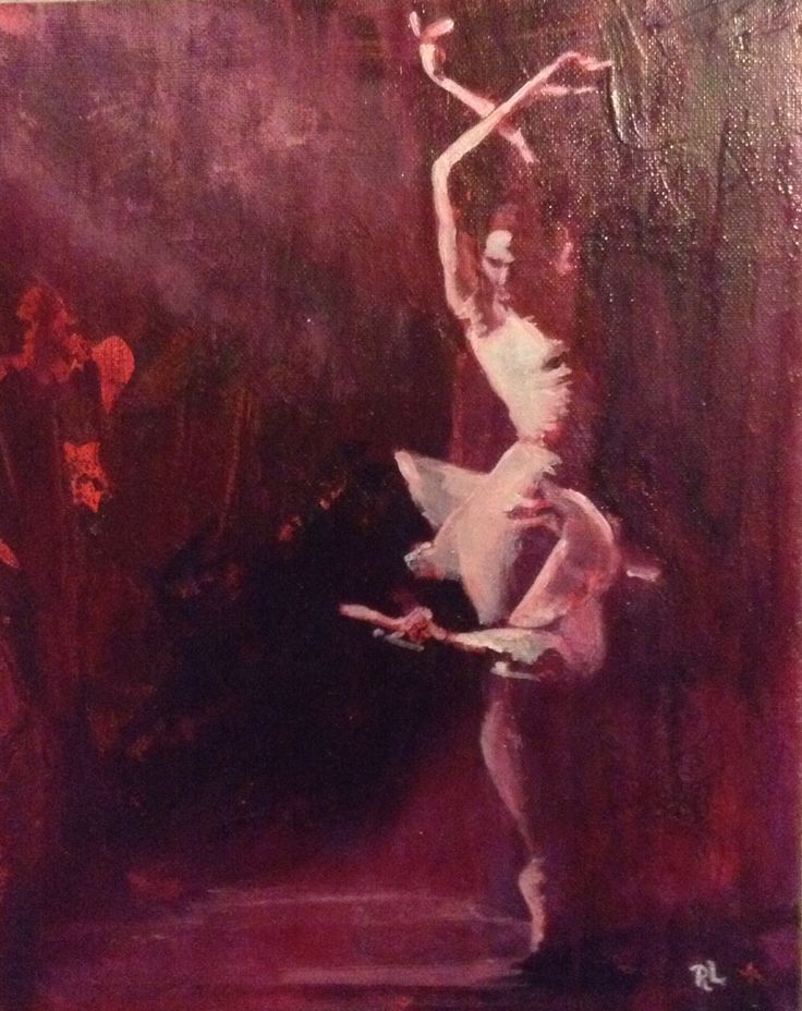 #acrylic/alkyd on canvas#24x30#ballet#rithva.dk