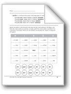 Prefixes: pro-, post-, ab-, ad-. Download it at Examville.com - The Education Marketplace. #scholastic #kidsbooks @Karen Jacot Echols #teachers #teaching #elementaryschools #teachercreated #ebooks #books #education #classrooms #commoncore #examville