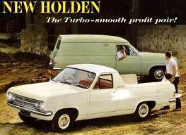 Holden Ute and Panel Van 1965