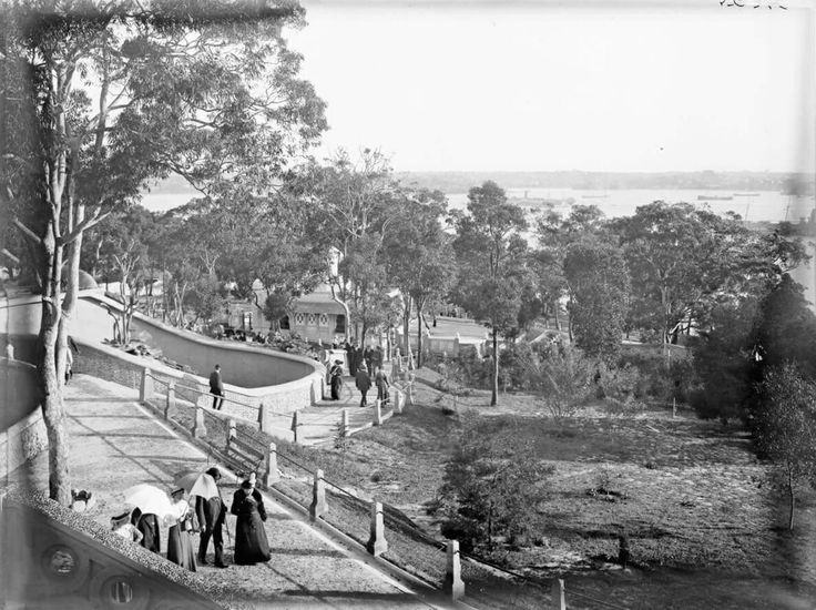 Taronga Zoological Park in Mosman in the early years.