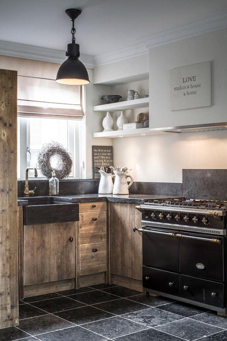 Keuken planken wand