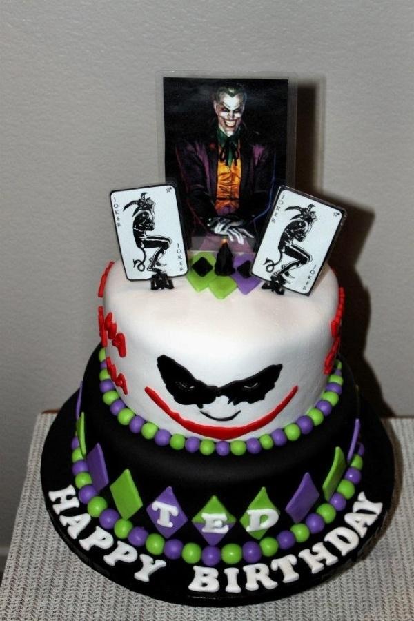 Best Batman Cakes Images On Pinterest Batman Cakes Batman - Dark knight birthday cake