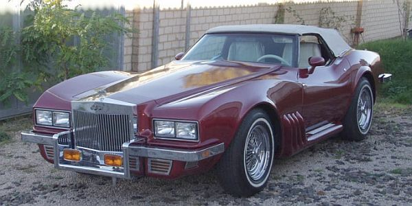 Dunham Coach Caballista Convertible 1980.. i realy feel sorry for the corvette