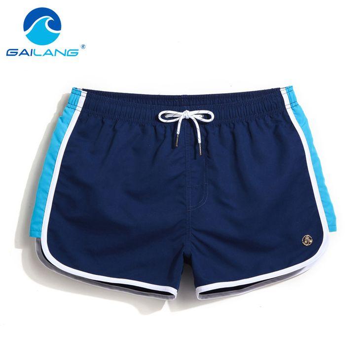 Gailang Brand Men's Board Shorts Beach Surfing Swim Trunks Men Swimwear Swimsuits Swimming Water Sports Run Boxer Trunks Outdoor