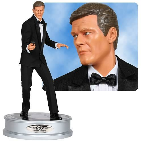 james bond memorabilia | James Bond Roger Moore 1:4 Scale Premium Statue Description: