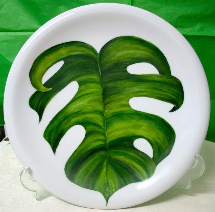 M s de 25 ideas incre bles sobre platos pintados a mano en - Vajillas pintadas a mano ...