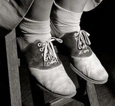 1940's Saddle Shoes. hated these and then loved the new version later in school