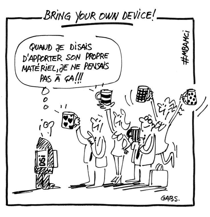 BYOD : Les nouvelles frontières personnelles et professionnelles