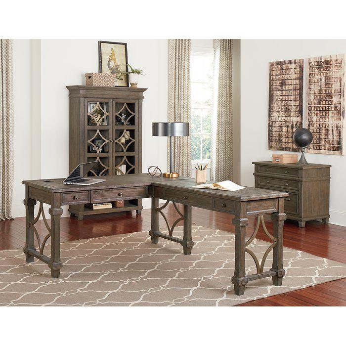 Larissa L Shape Executive Desk L Shaped Executive Desk L Shaped Desk Martin Furniture