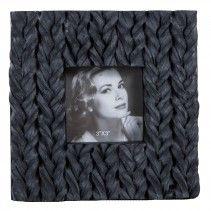 Glimm black poly photoframe square