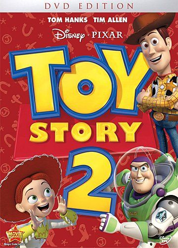 "Toy Story 2 ~ ""When Woody is stolen by a toy collector, Buzz and his friends vow to rescue him, but Woody finds the idea of immortality in a museum tempting."""