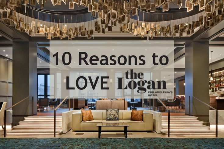 See the top 10 reasons you'll love The Logan Hotel in Philadelphia, PA in this review, including its great location, fabulous restaurant and artistic decor.