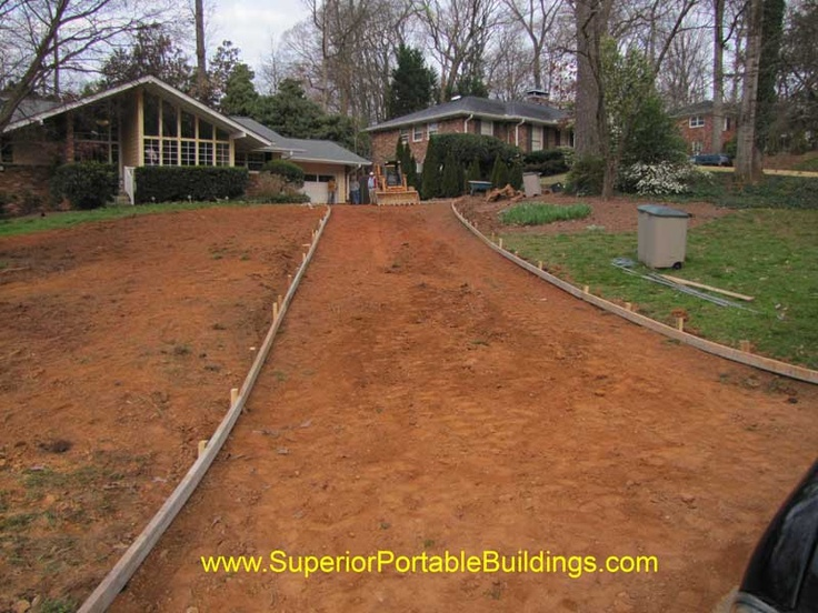 38 best images about things i need to do around the house for Steep driveway construction