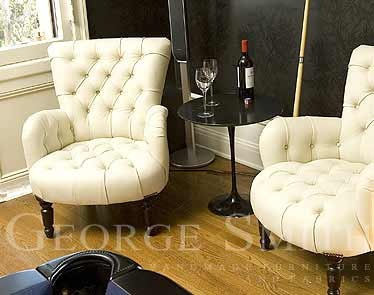 lovely george smith chairs.