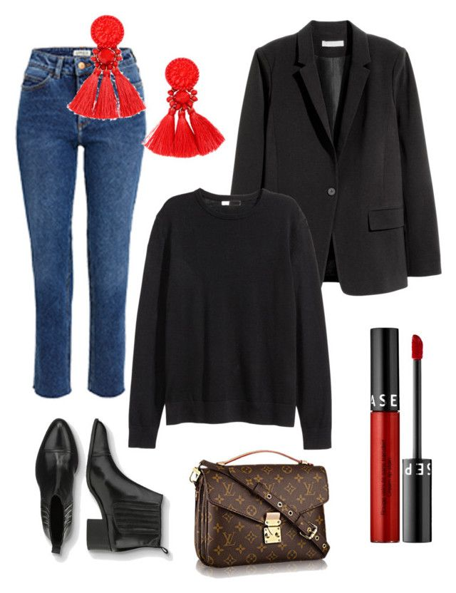 """""""Untitled #228"""" by stinasolheim on Polyvore featuring H&M and Sephora Collection"""