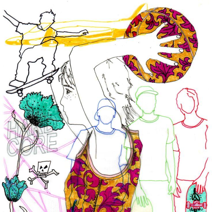 Sports Day #illustration #delastella