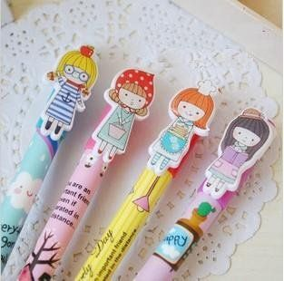 Cute pens. Could sell with notepad /book or individually