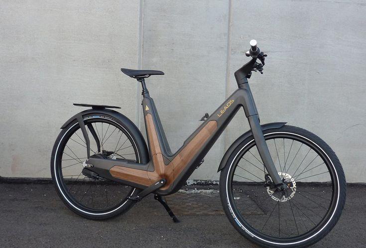 leaos solar electric bike fuses technology with elegant aesthetics